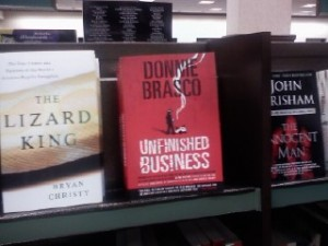 The Lizard King meets Donnie Brasco and John Grisham